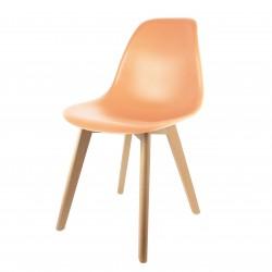 Chaise NONO - Pastel Orange