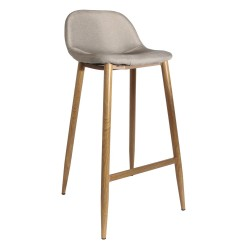 Tabouret FAB - Toile taupe