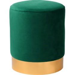Tabouret YOANA - Velours Vert Emeraude