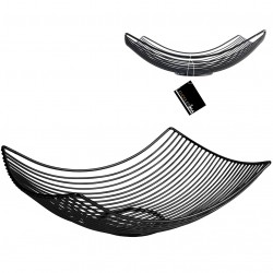 Corbeille filaire CORBY - Black