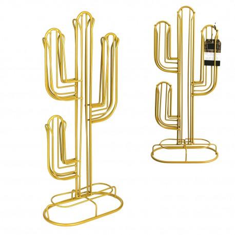 Porte capsules Nespresso filaire CACTUS - Gold