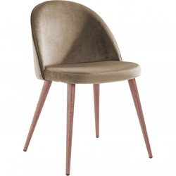 Chaise GONG - Woodstyle - Taupe