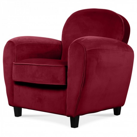 Fauteuil CLUB CUBANO - Red Cherry Edition