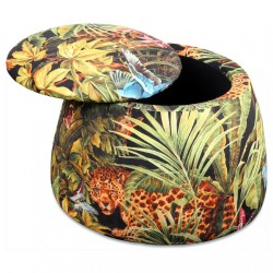 Tabouret & coffre DOMUS - Jungle - Limited Edition