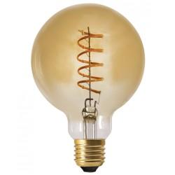 Ampoule décorative Edison GLOBE Spirale - LED