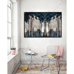 """Toile """"STANDING IN THE CHAOS"""" by KUNST"""