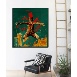 """Toile """"MOROCCAN ANGEL"""" by KUNST"""