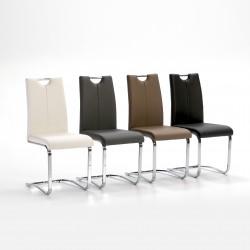 Chaise SHADE - Noir, Blanc ou Moka