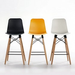 TABOURET NORTH - NOIR