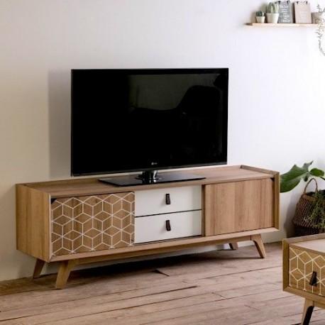 Meuble TV POMPEI - Décors White graphics