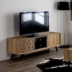 Meuble TV POMPEI - Décors Black graphics