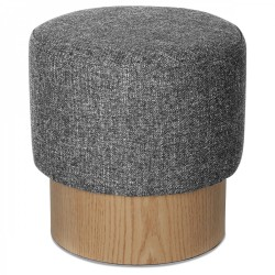 Tabouret YOAN Tweed Edition - Gris