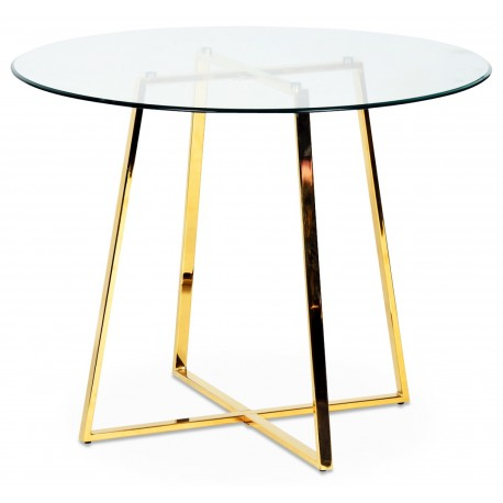 Table à manger CRUZ - Gold Edition
