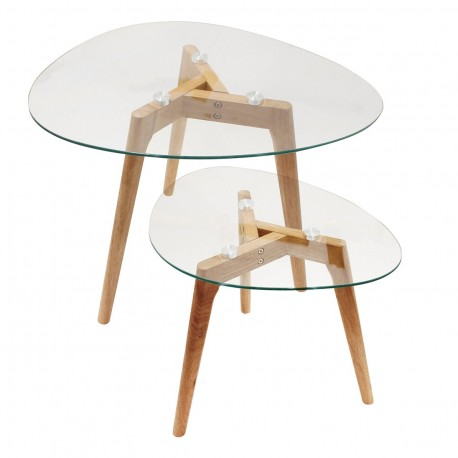 Duo de tables SHAPES