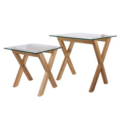 Duo de tables CROSS