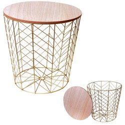 Table d'appoint JUNEO - Bois & Or