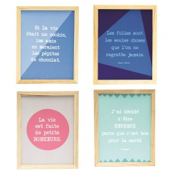 Tableau FUNNY QUOTES - 31x44cm