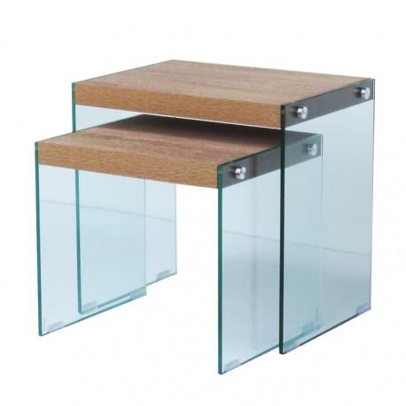 Duo de tables gigognes GRACE
