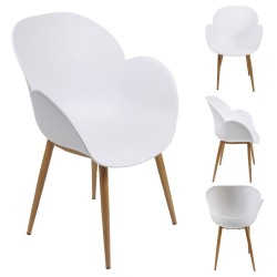 Fauteuil MINDY - White