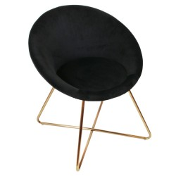 Fauteuil STUARTY - JUST BLACK