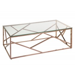 Table basse BORA - Rose Gold