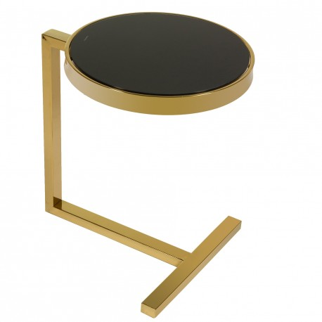 Table d'appoint GOLDY - Black & Gold