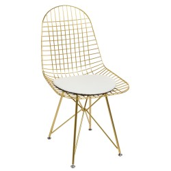Chaise EDGE - Gold