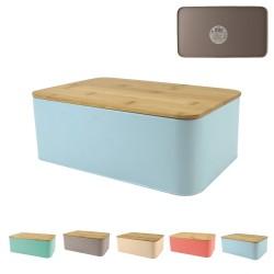Ensemble boîte & planche à pain - 5 coloris au choix