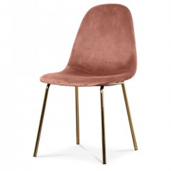 Chaise BAYA - Blush & Gold
