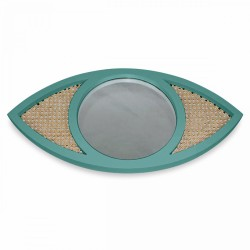 Miroir EYE cannage - Thym