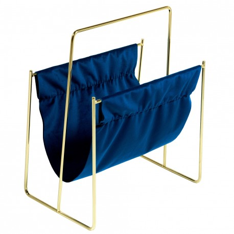 Porte-revues DEEP - Blue & Gold