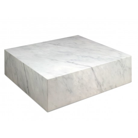 Table Basse CUBE- Mabre blanc Carrara