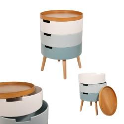 Chevet coffre LIMBO - Nuances pastel