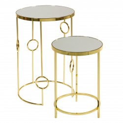 Duo de tables ARA Gold