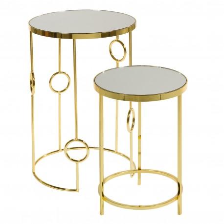 Duo de tables ARA Gold