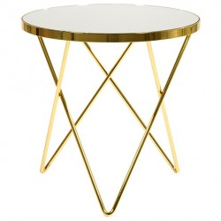 Duo de tables VALA Gold
