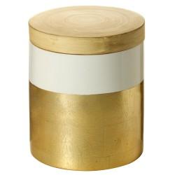 Boite Déco GOLDEN NATURE - Bambou & feuille d'or