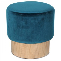 Tabouret YOAN Tweed Edition - Velours Canard