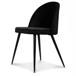 Chaise GONG - All Black