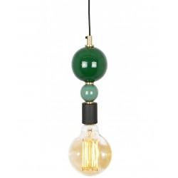 Suspension BUBBLY - Emerald & Pastel Green