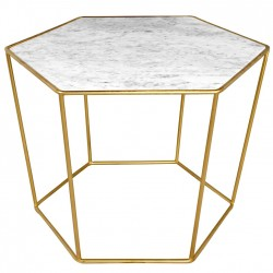 Table MAO Marble & Gold