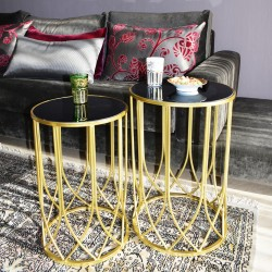 Duo de tables ARCADIA GOLD