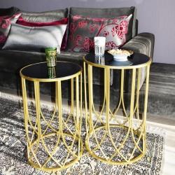 Duo de tables ARCADIA GOLD