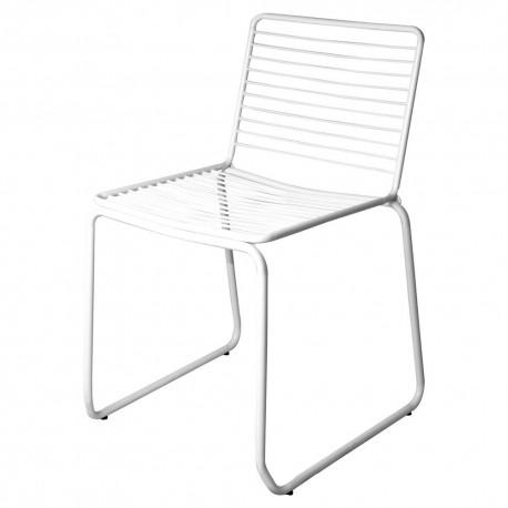 Chaise WIRE - Acier blanc