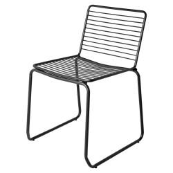 Chaise WIRE - Acier noir