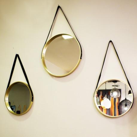 Trio de miroirs Cartier - Gold