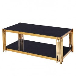 Table basse SALY - Black & Gold