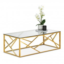 Table basse BORA - Gold