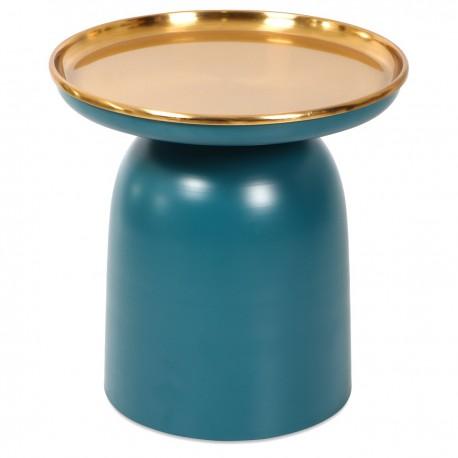 Guéridon JELLY - Blue & Gold