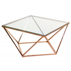 Table basse ONYX - Rose Gold